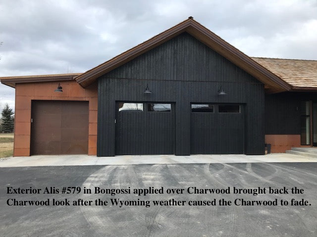 Alis Bongossi applied on Charwood