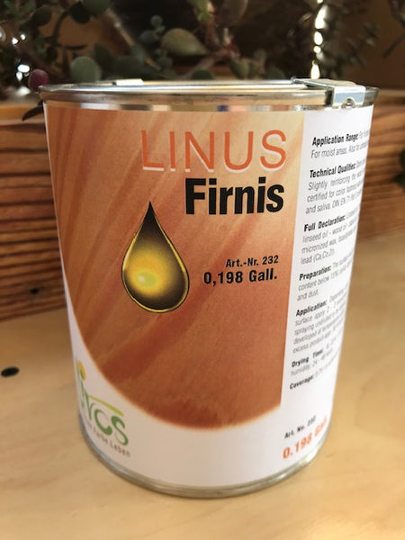 linus wood varnish by livos