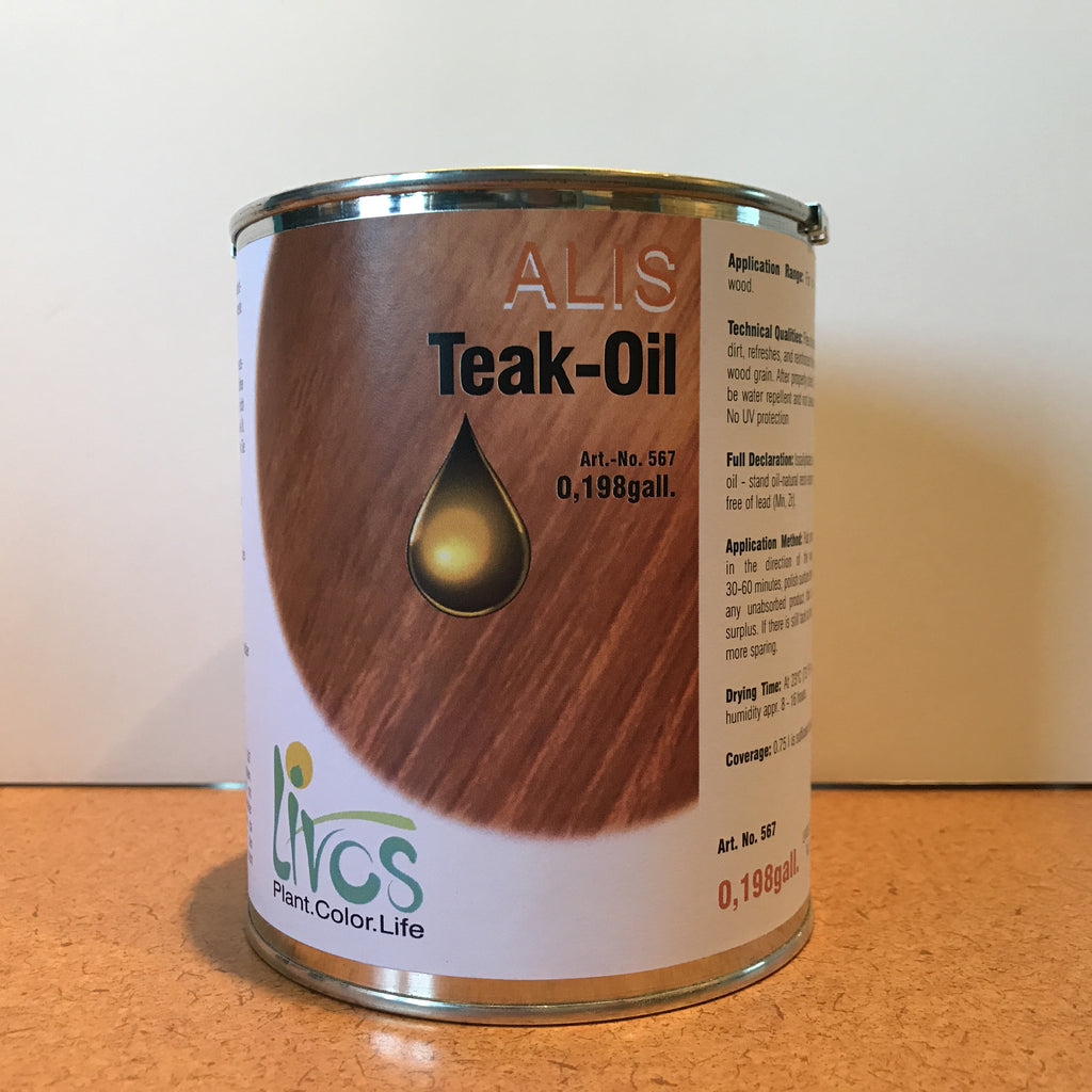 teak oil alis by livos
