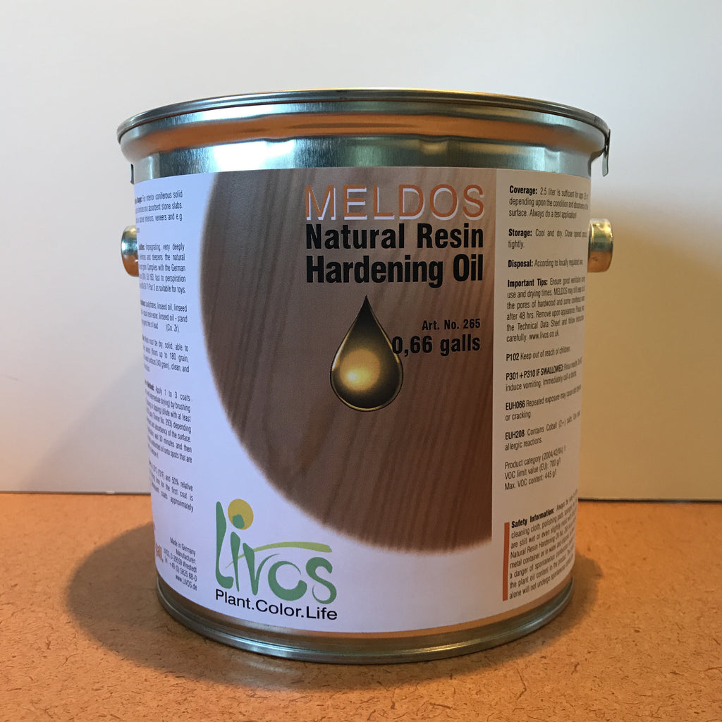 meldos natural resin hardening wood oil