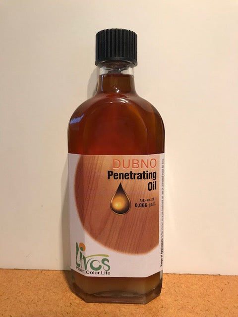 dubno penetrating oil for wood by livos