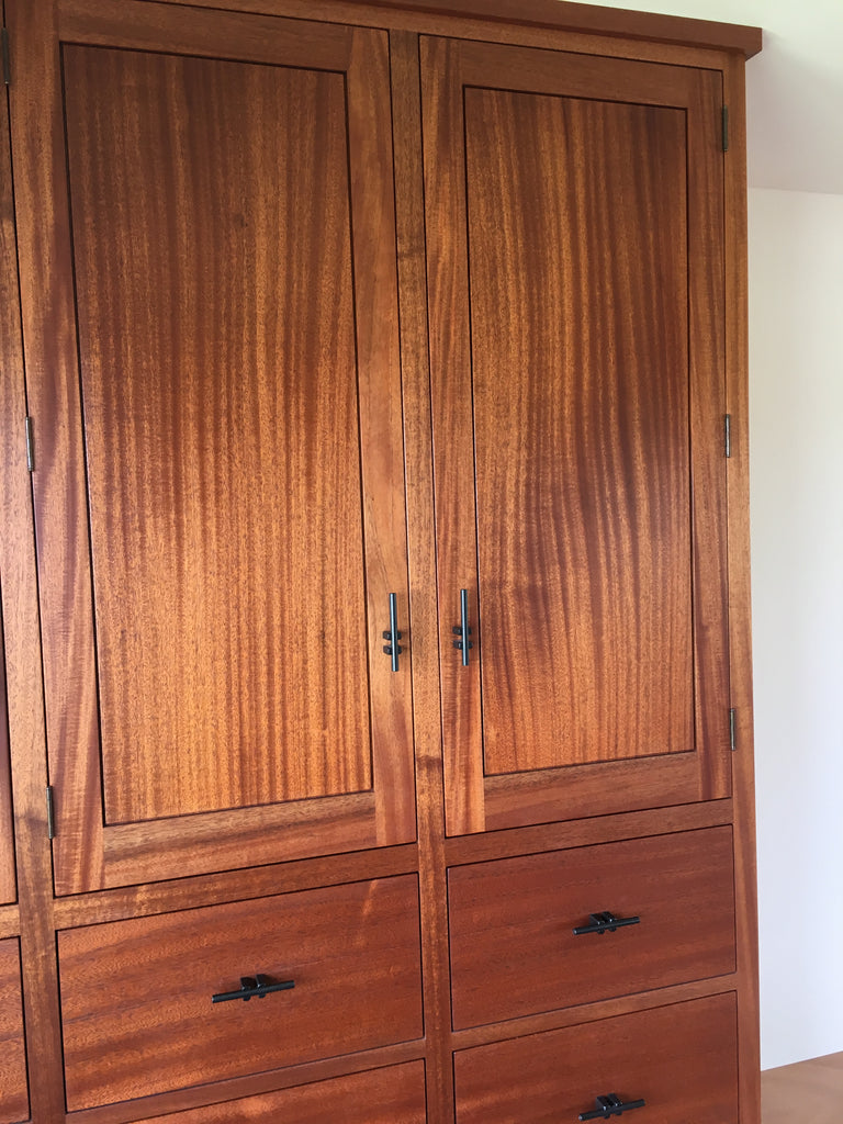 kunos wood sealer on cabinet