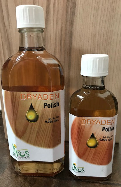 dryaden wood polish by livos