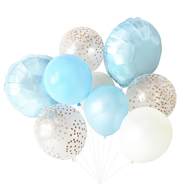Balloon Bouquet - Light Blue