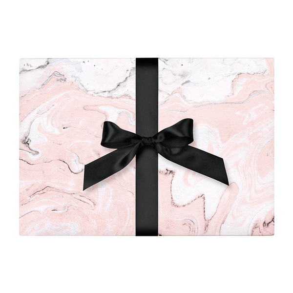 Wrapping Paper - Blush Marble