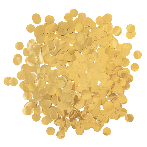 Confetti Bulk Bag - Metallic Deep Gold