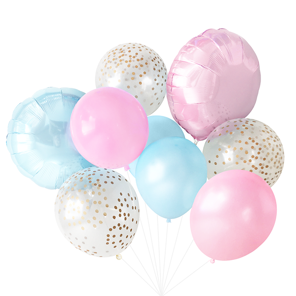 Balloon Bouquet - Gender Reveal