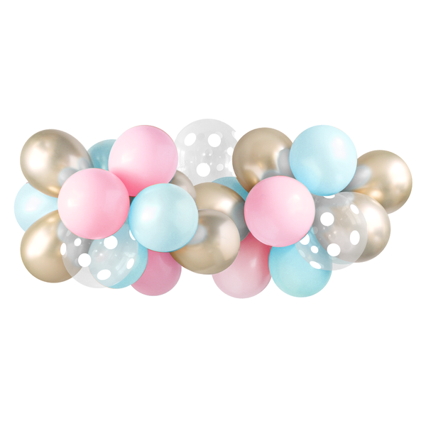 Balloon Garland - Gender Reveal - 5ft