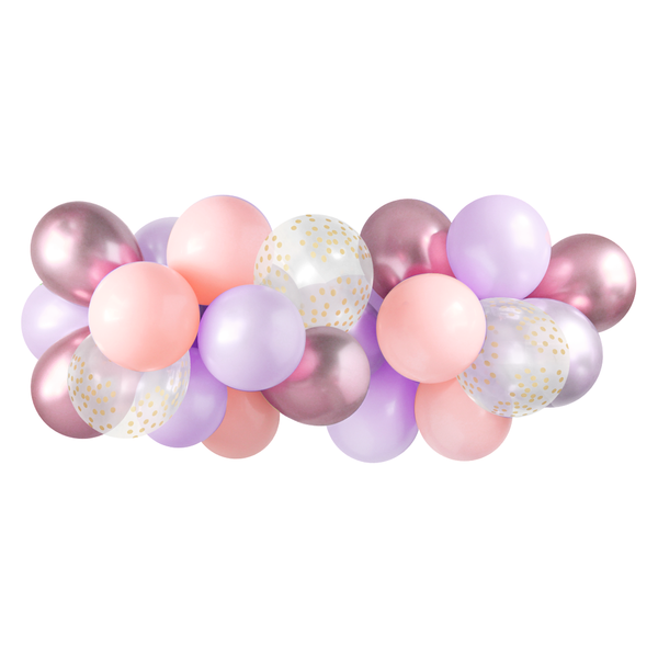 Balloon Garland - Lilac Rose - 5ft