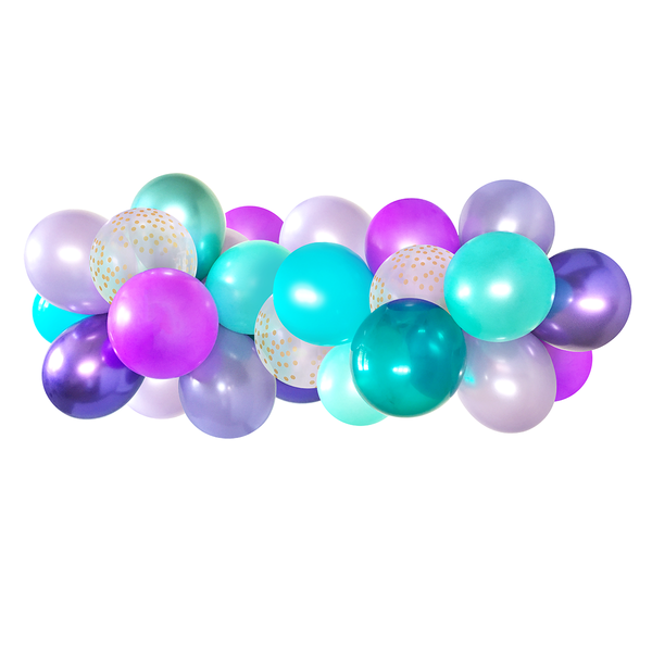 Balloon Garland - Mermaid - 5ft