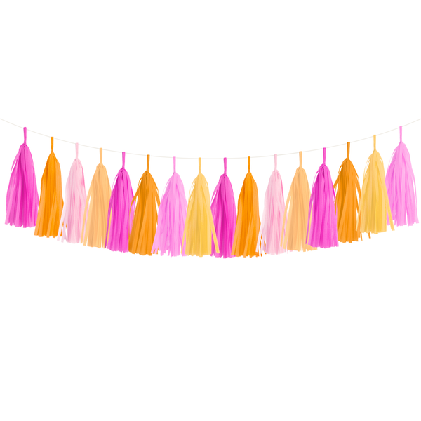 Tassel Garland DIY Kit - Pink Grapefruit
