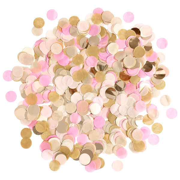 Confetti Bulk Bag - Rustic Blush