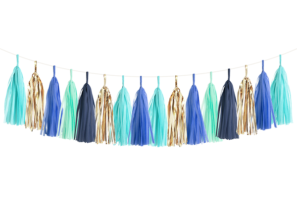 Tassel Garland DIY Kit - Blue