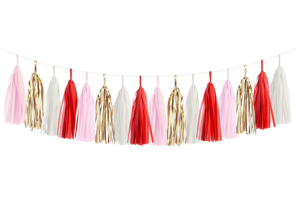 Tassel Garland DIY Kit - Candy Cane