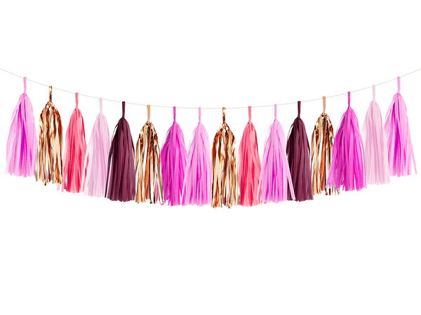 Tassel Garland DIY Kit - Gemstone