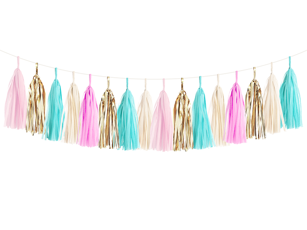 Tassel Garland DIY Kit - Gender Reveal