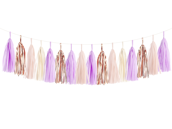 Tassel Garland DIY Kit - Lilac Rose