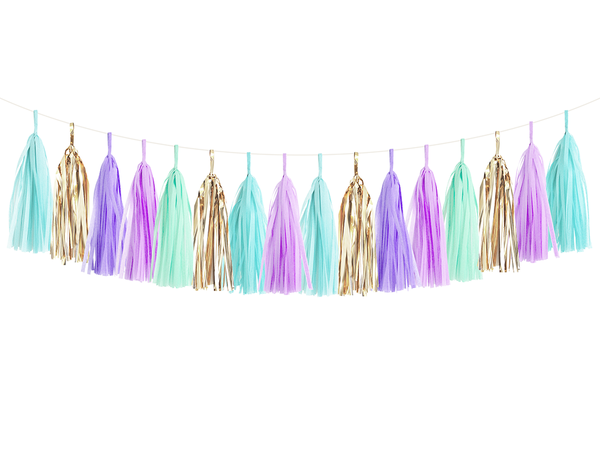 Tassel Garland DIY Kit - Mermaid
