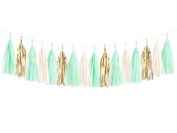 Tassel Garland DIY Kit - Mint