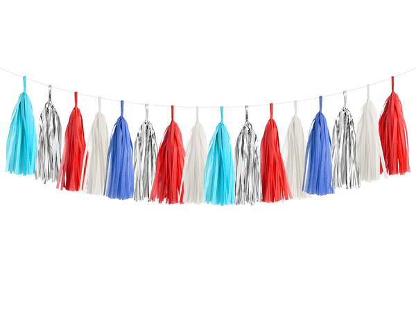 Tassel Garland DIY Kit - Patriotic