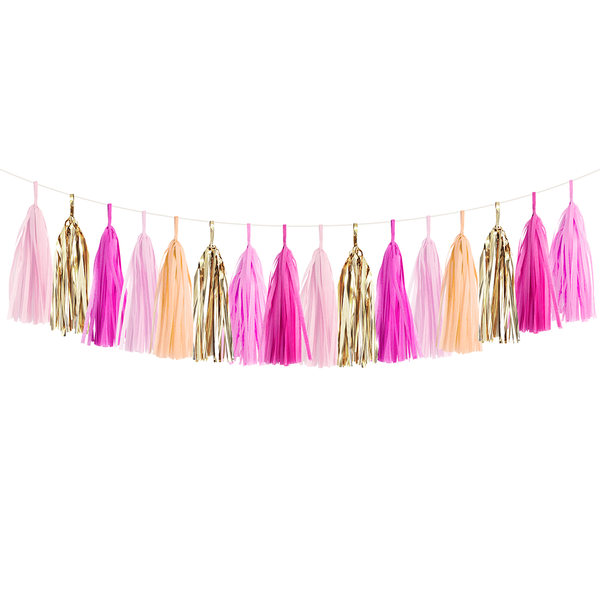 Tassel Garland DIY Kit - Pink Party