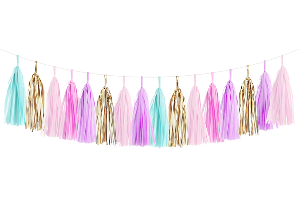 Tassel Garland DIY Kit - Unicorn