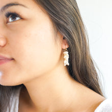 Ni'ihau Momi Shell Earrings
