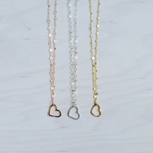 Signature Mini Heart Necklace