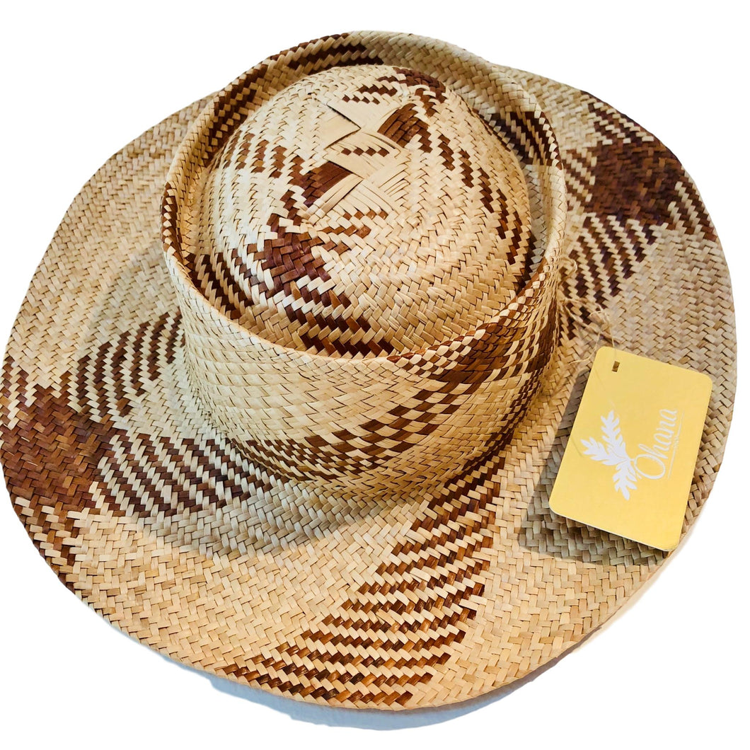 Lauhala Two Tone  Hat