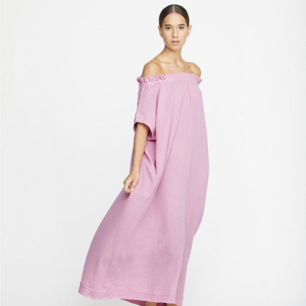 Mirakami Maxi Dress in Misty Mauve
