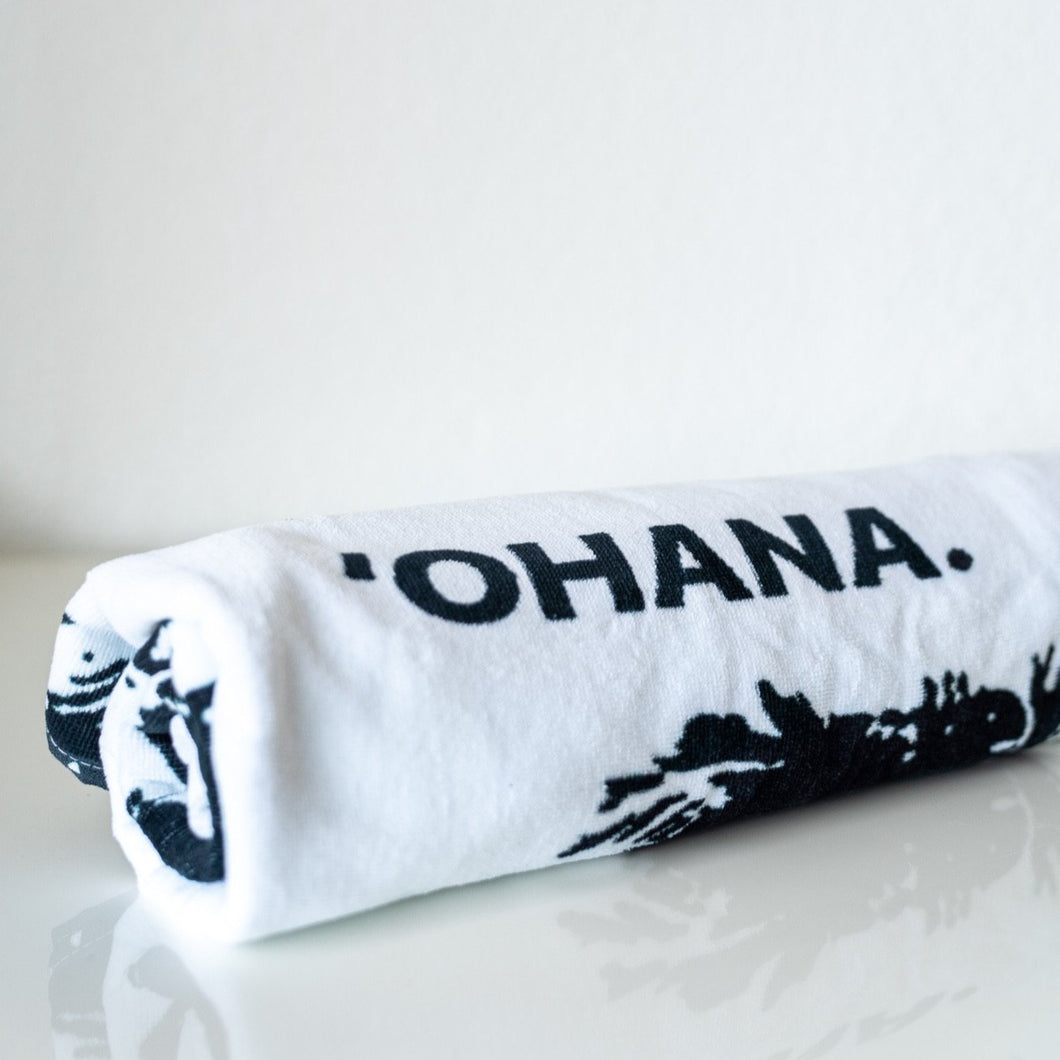'OHANA. Cotton Beach Towel