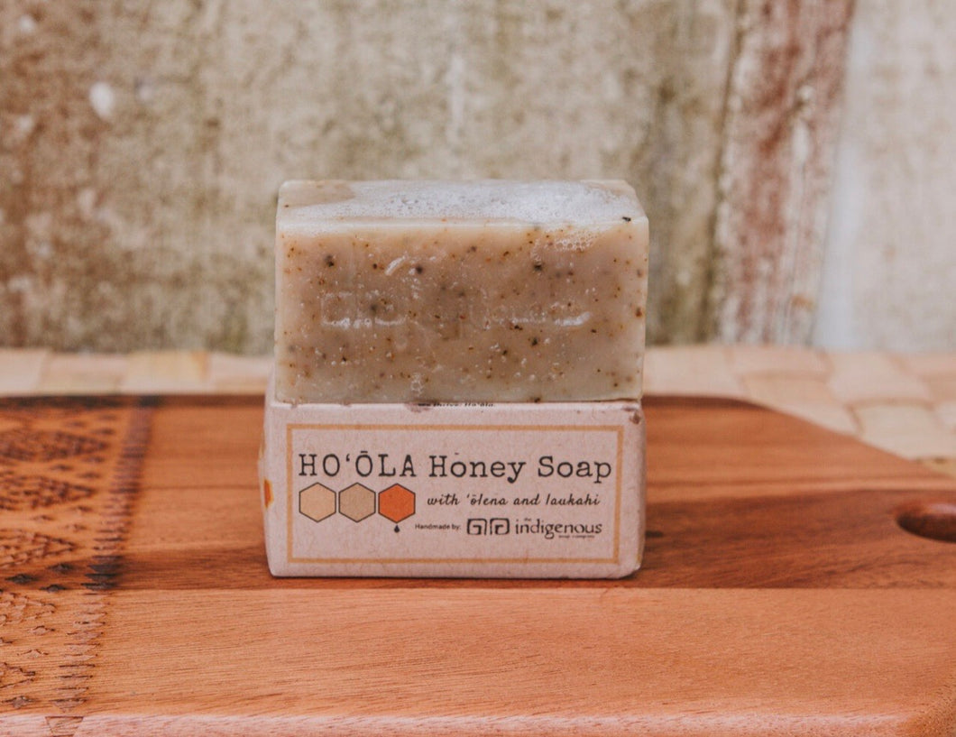 Ho'ōla Honey Soap