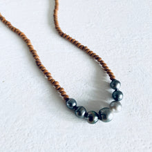 Sandlewood Tahitian Pearls Necklace