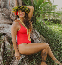 Mai Bodysuit EXCLUSIVE: 'OHANA RED