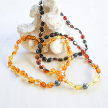 Amber & Tahitian Pearl Necklace