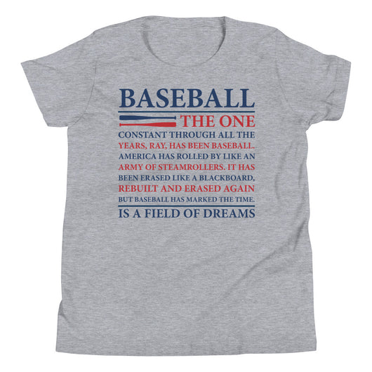 Baseball Dreams<Br>Youth T-Shirt