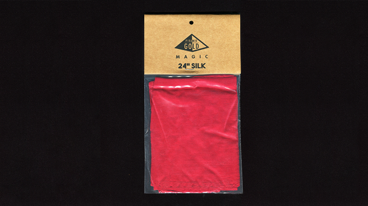 Silk 24 inch (Bright Red) by Pyramid Gold Magic