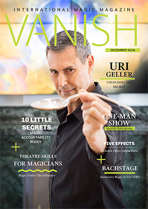 VANISH Magazine December/January 2017 - Uri Geller eBook DOWNLOAD