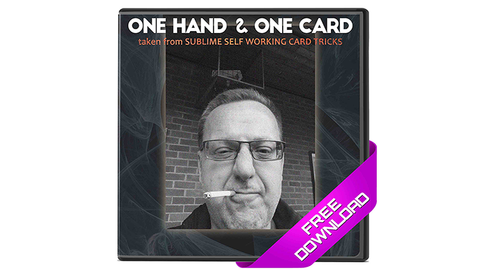 One Hand & One Card (Excerpt from Sublime Self Working Card Tricks) by Big Blind Media video DOWNLOAD
