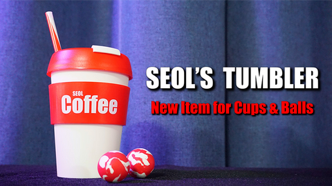 SEOL'S TUMBLER (Cup & Ball With Straw)(Gimmick and Online Instructions) by Seol Park - Trick