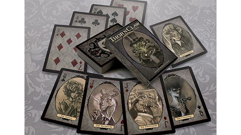 Thornclaw Manor Playing Cards by Steve Ellis