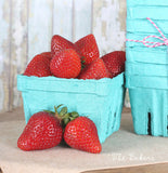 Berry Baskets de Cartón Reciclado /25 Pzas