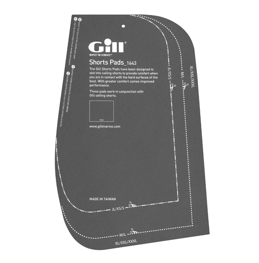 Gill Shorts Pads - GillDirect.com