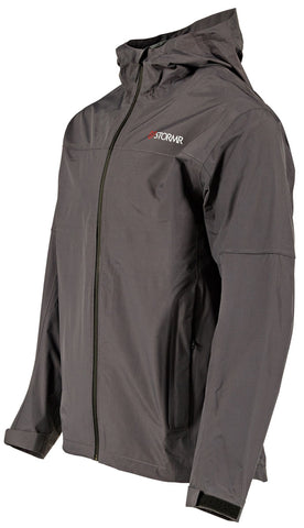 Image of STORMR Men's Nano Jacket Grey-Black - GillDirect.com