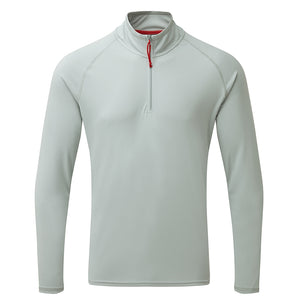 Gill Men's UV Tec Long Sleeve Zip Tee