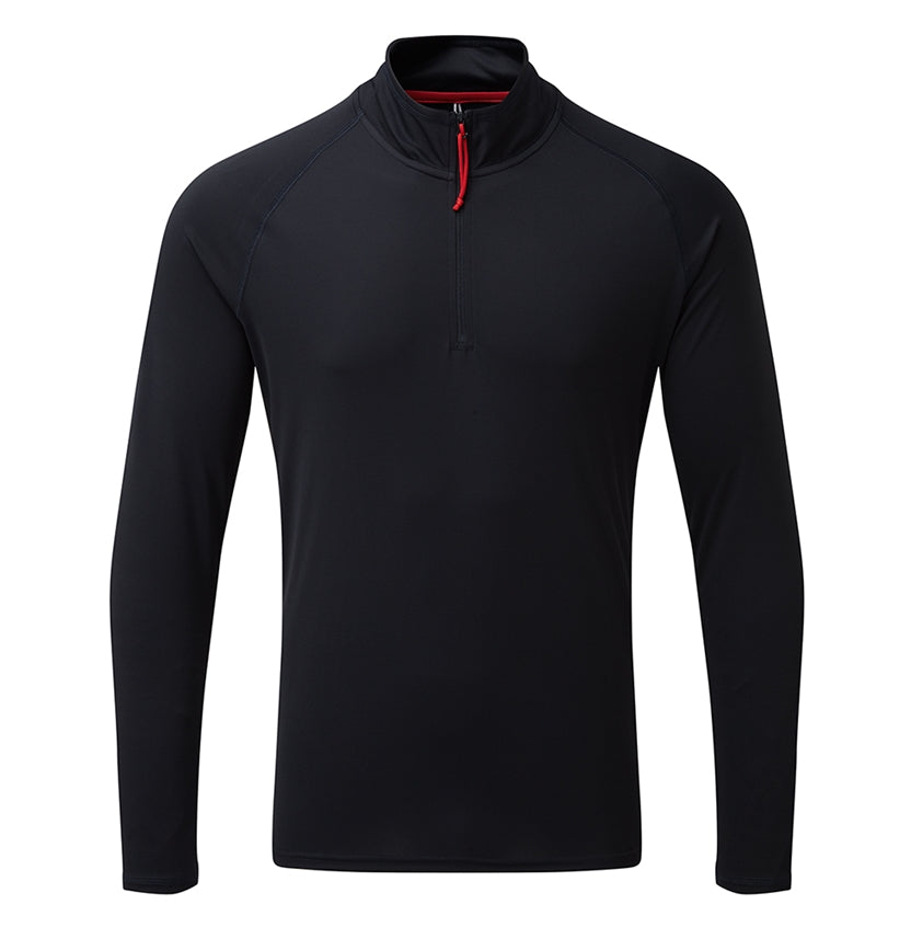 Gill Men's UV Tec Long Sleeve Zip Tee - GillDirect.com