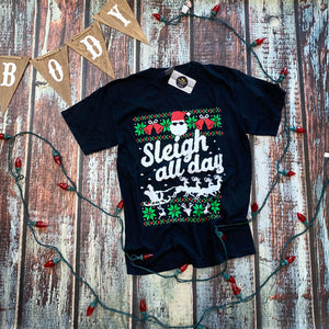 Sleigh All Day- blk