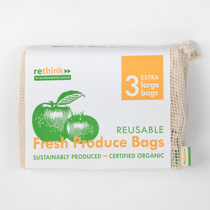 Reusable Fresh Produce Bags - 3x XL
