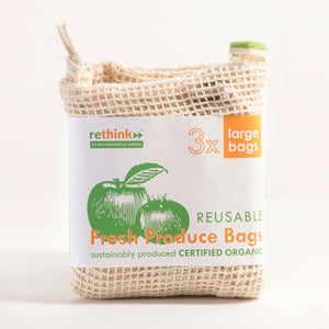 Reusable Fresh Produce Bags - 3x Large