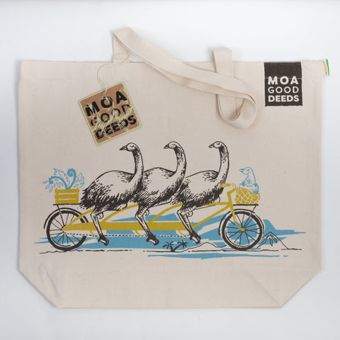 Canvas Bag - Moa Earthy